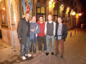 Matt, Mike, Forest, Clark, and Tobin