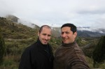 Tobin and Forest back in the Alpujarras, Andalusia Spain 2012
