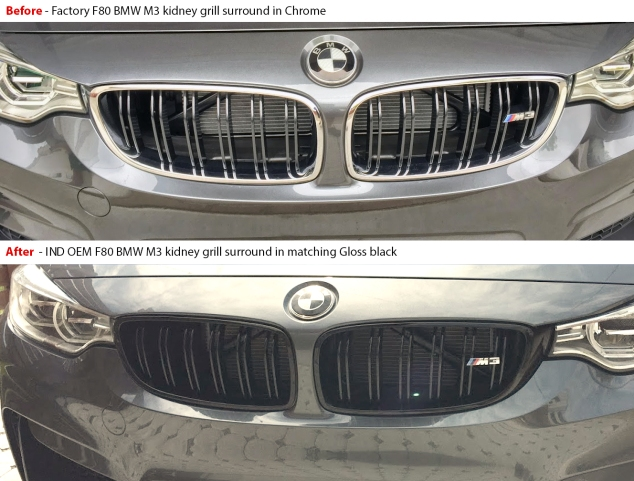before after f80 grill
