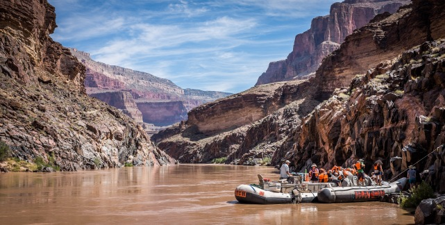 River Rafting the Grand Canyon